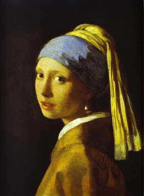 Girl With A Pearl Earring 1665 | Jan Vermeer | oil painting