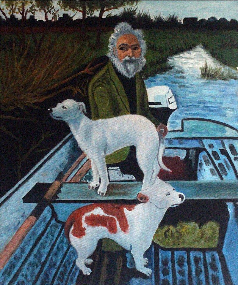Goodfellas | Ocean's Bridge | oil painting