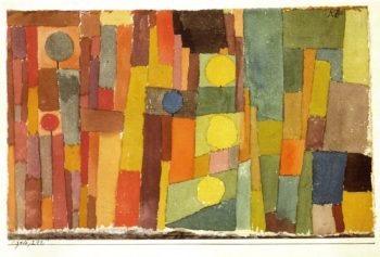 In the style of Kairouan | Paul Klee | oil painting