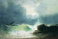 The Wave | Ivan Constantinovich Aivazovsky | Oil Painting