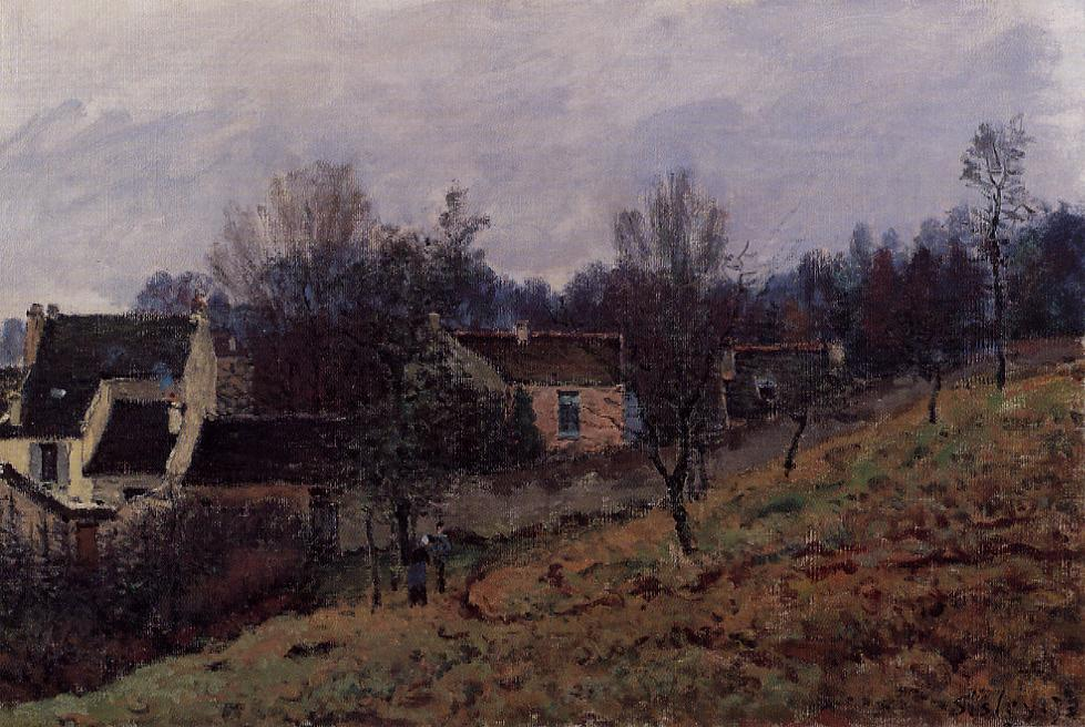 Autumn in Louveciennes  1873 | Alfred Sisley | Oil Painting