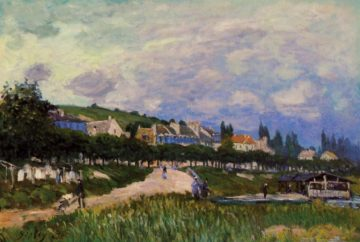 The Laundry  1876 | Alfred Sisley | Oil Painting