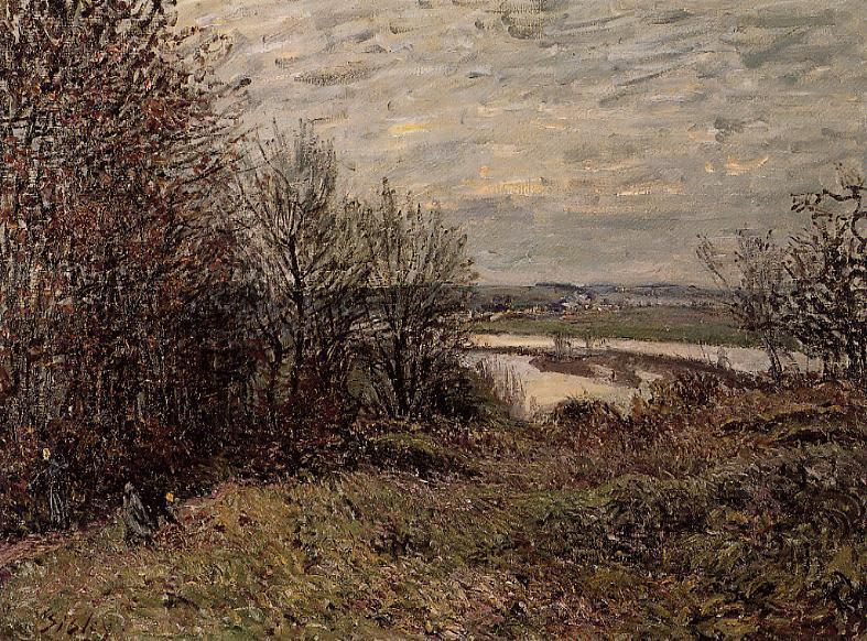 The Roches-Courtaut Wood near By  1880 | Alfred Sisley | Oil Painting