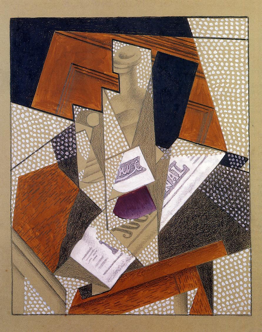 Bottle 1916 | Juan Gris | Oil Painting