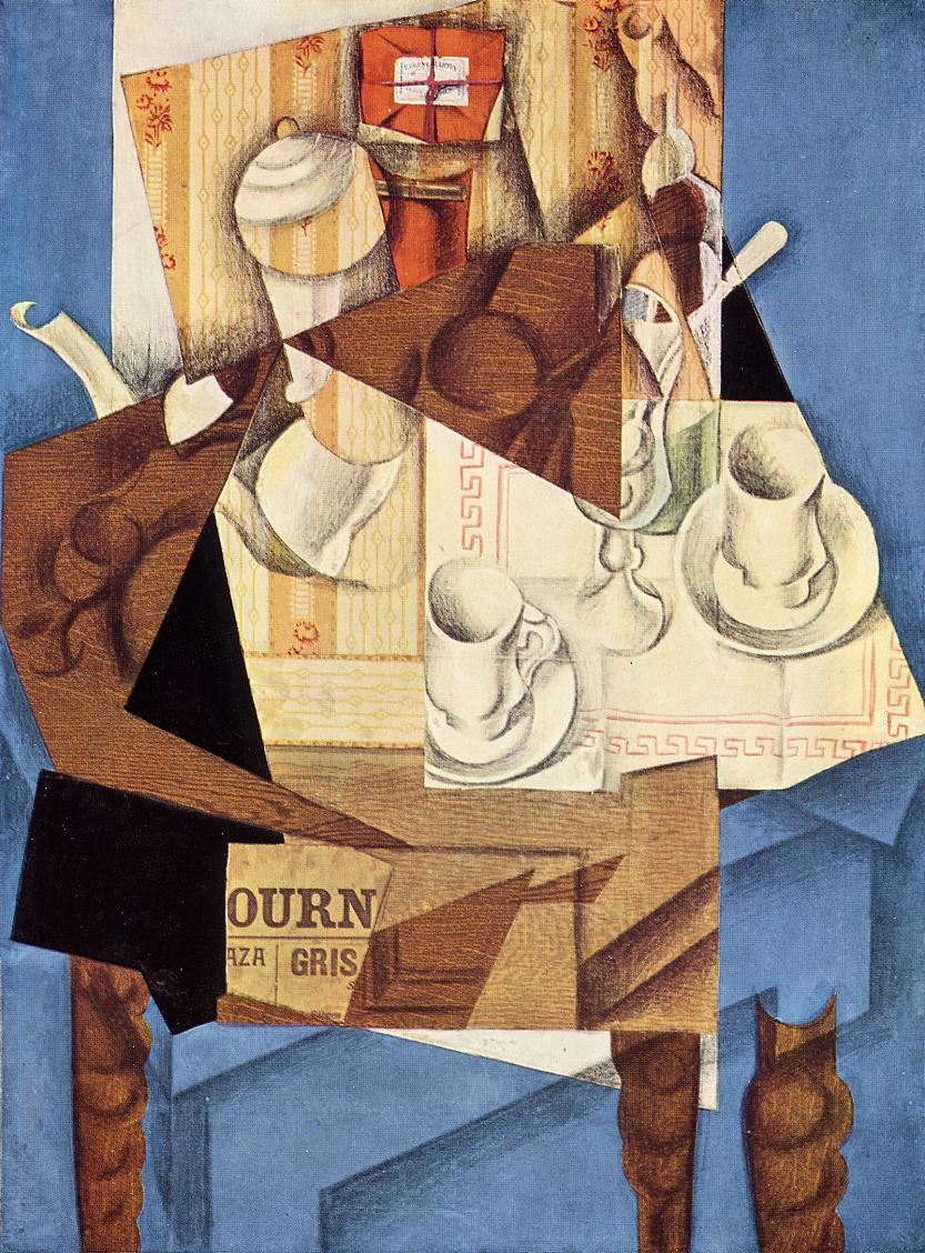 Breakfast 1914 | Juan Gris | Oil Painting