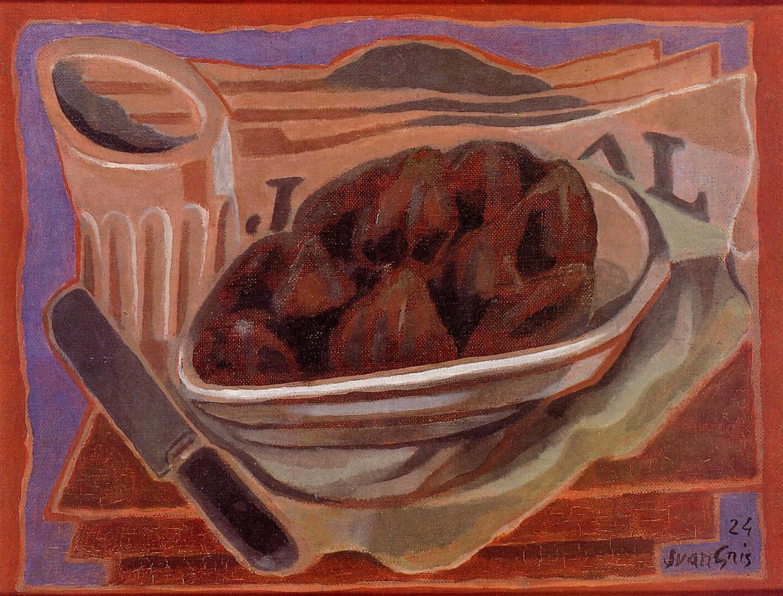 Figs 1924 | Juan Gris | Oil Painting
