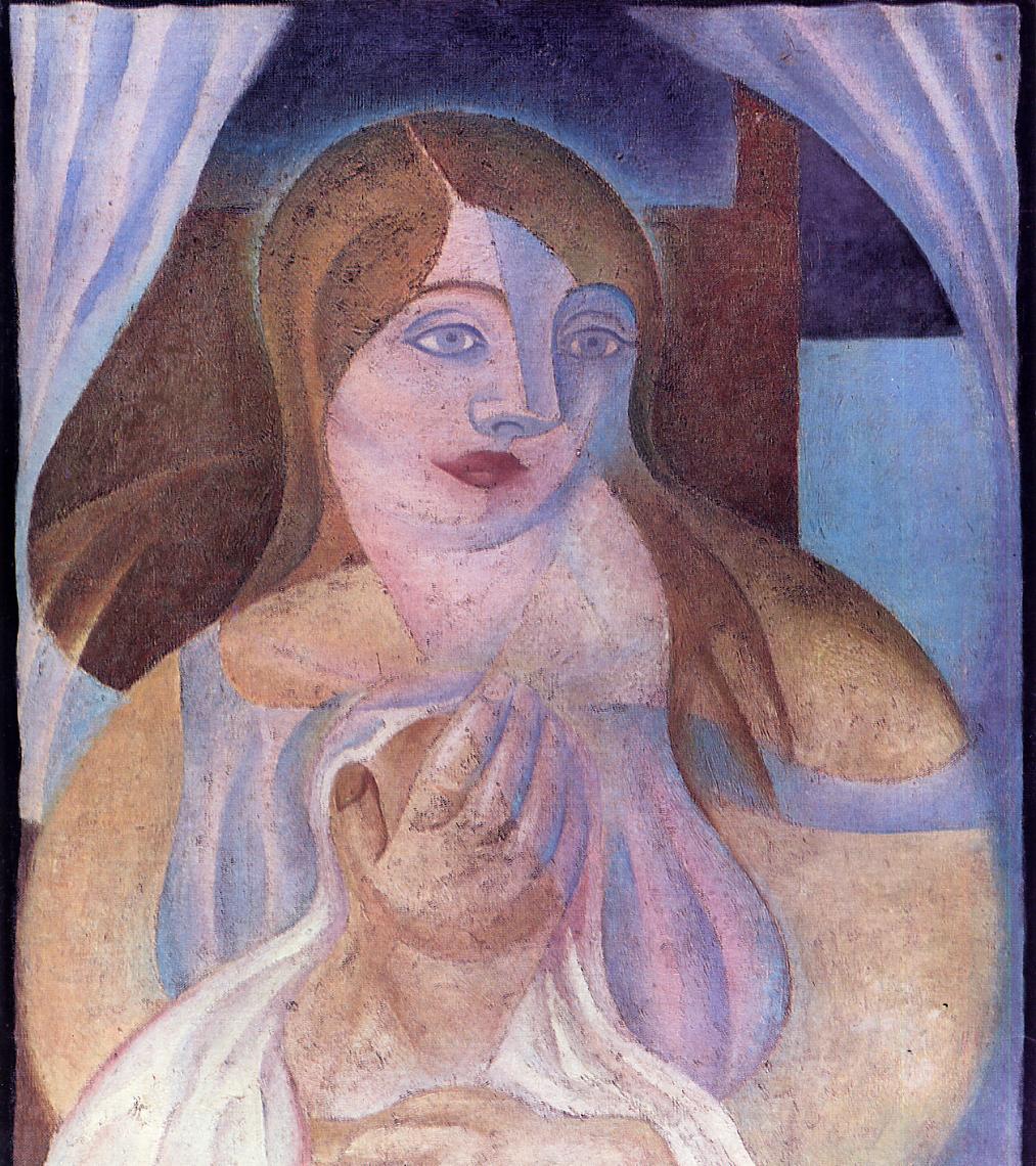 Girl 1922 | Juan Gris | Oil Painting