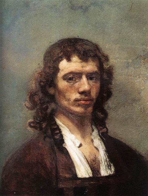 Self Portrait 1645 | Carel Fabritius | Oil Painting