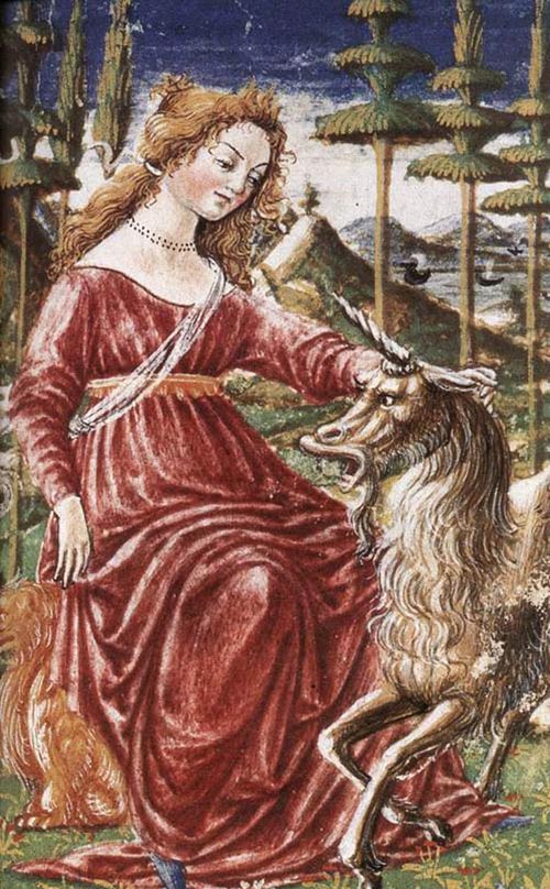 Chastity with the Unicorn 1463 | Francesco Di Giorgio Martini | Oil Painting