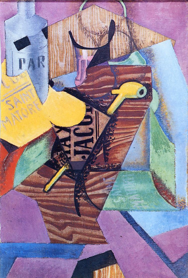 Saint-Matorel 1913 | Juan Gris | Oil Painting