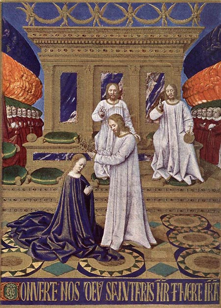 The Coronation of the Virgin 1452 1460 | Jean Fouquet | Oil Painting