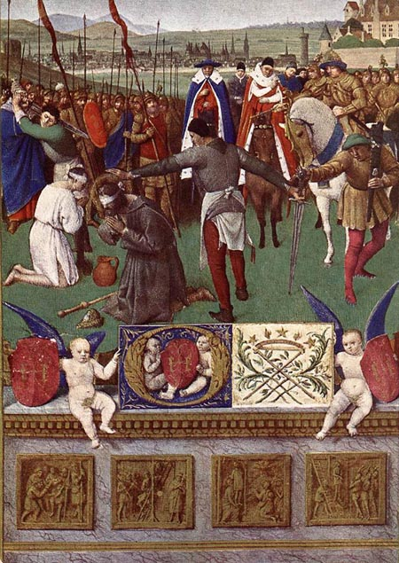 The Martyrdom of St James the Great 1452 1460 | Jean Fouquet | Oil Painting
