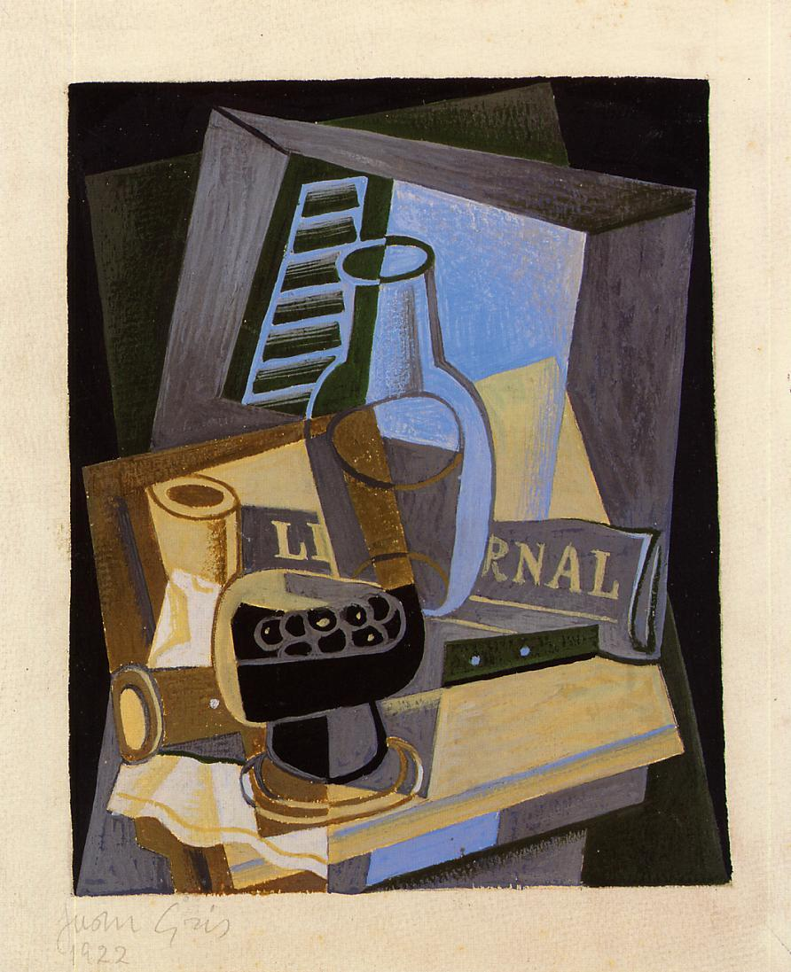 Still Life in Front of the Wiindow 1922 | Juan Gris | Oil Painting
