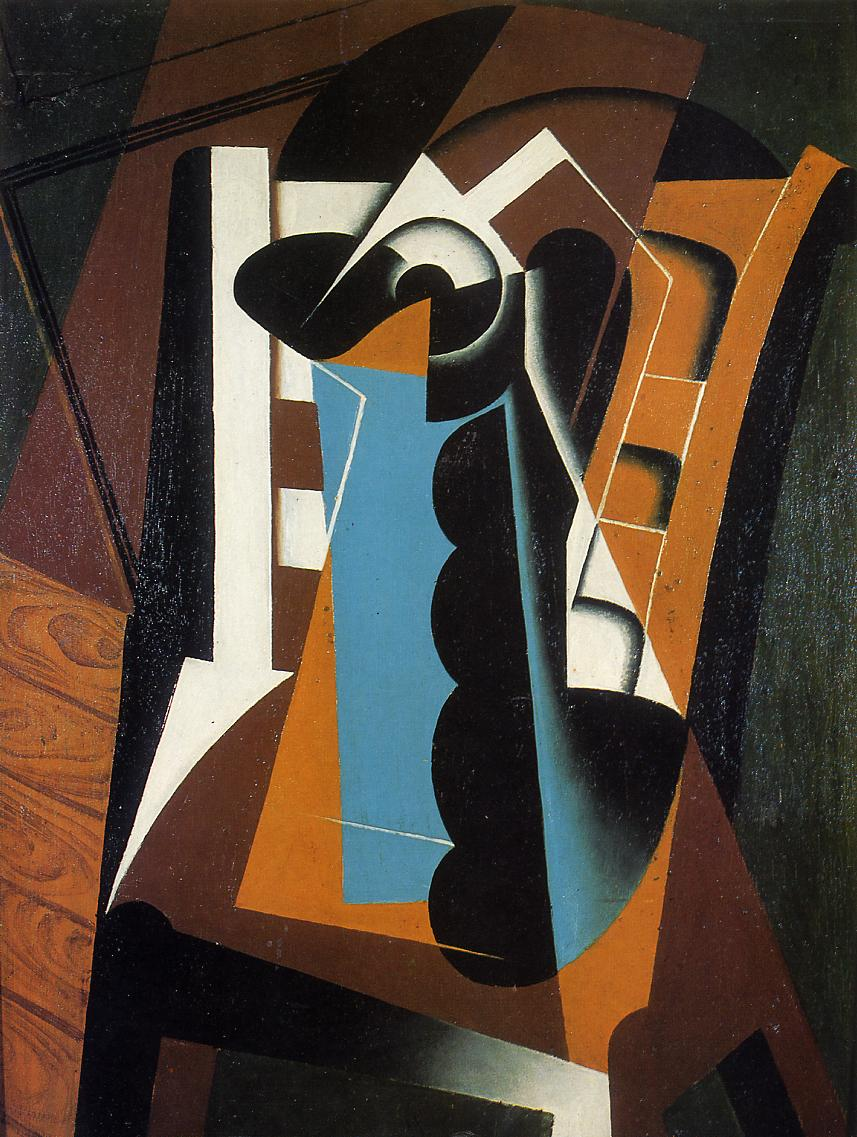 Still Life on a Chair 1917 | Juan Gris | Oil Painting