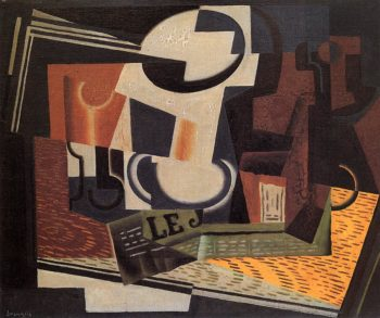 Still Life with Fruit Bowl 1918 | Juan Gris | Oil Painting
