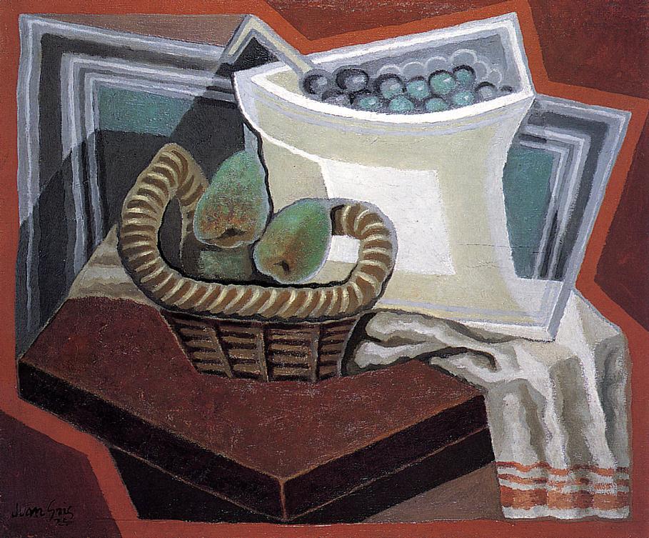 The Basket of Pears 1925 | Juan Gris | Oil Painting