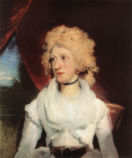 Martha Carry 1789   Sir Thomas Lawrence   Oil Painting