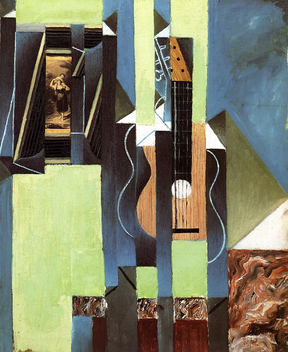 The Guitar 1913 | Juan Gris | Oil Painting