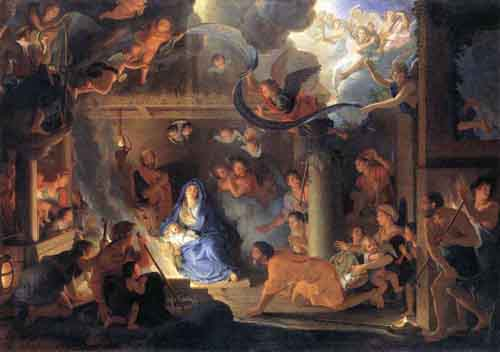Adoration of the Shepherds 1689 | Charles Le Brun | Oil Painting