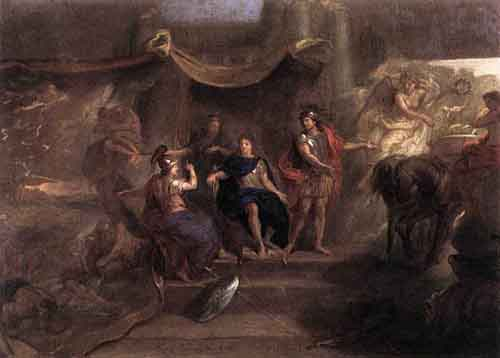 The Resolution of Louis XIV to Make War on the Dutch Republic 1671 | Charles Le Brun | Oil Painting