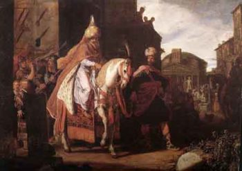 The Triumph of Mordecai 1624 | Pieter Lastman | Oil Painting