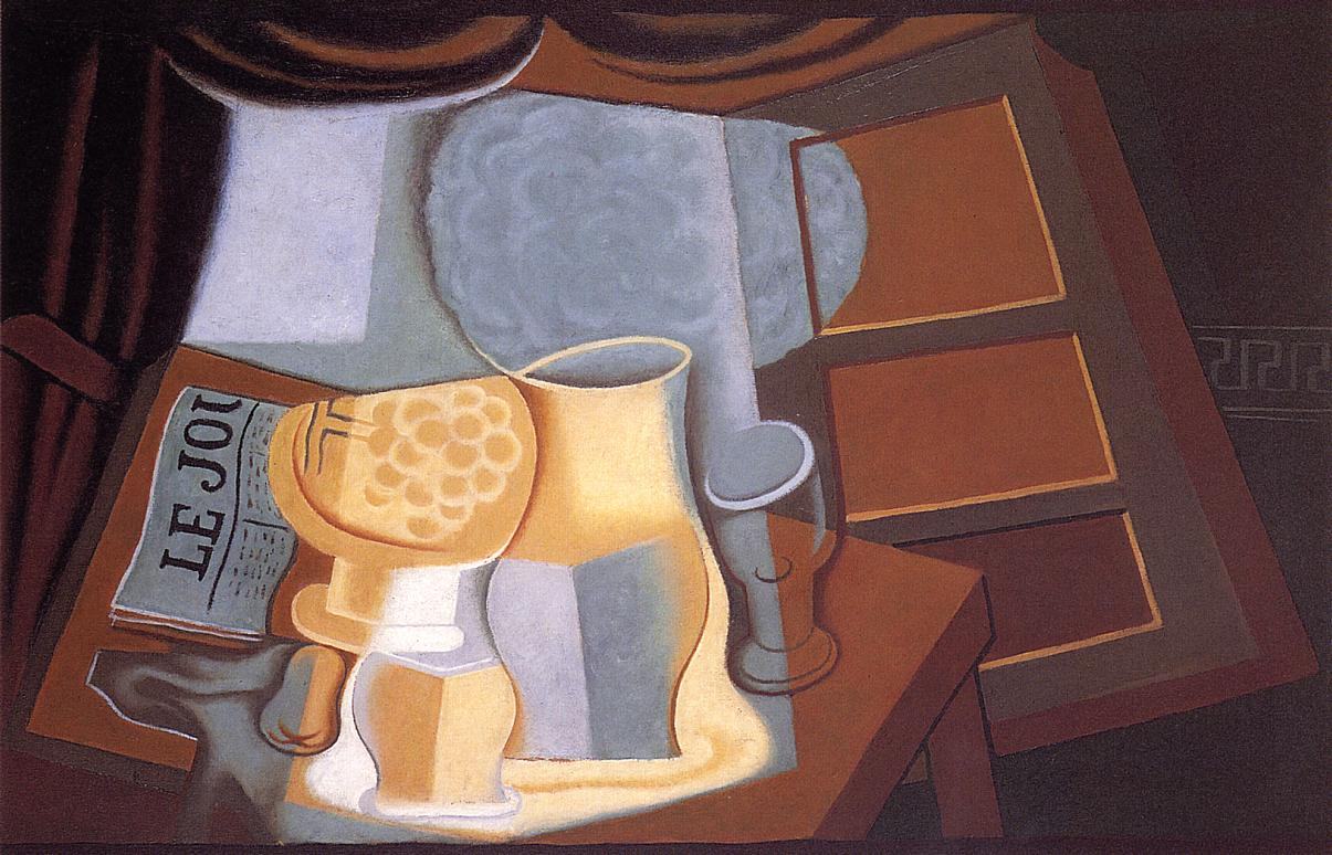 The Table in Front of the Window 1921 | Juan Gris | Oil Painting