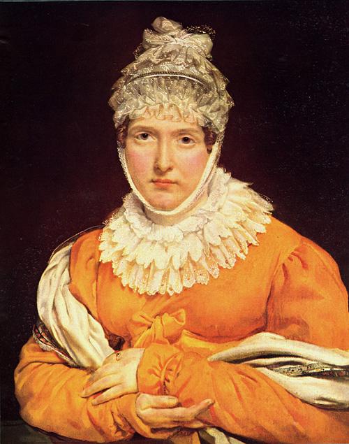 Portrait of Mademoiselle Recamier   Antoine Jean Gros   Oil Painting