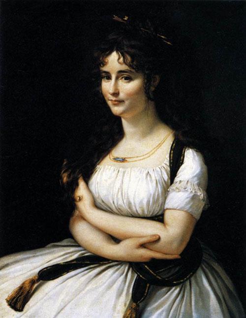 Madame Pasteur 1795 1796   Antoine Jean Gros   Oil Painting