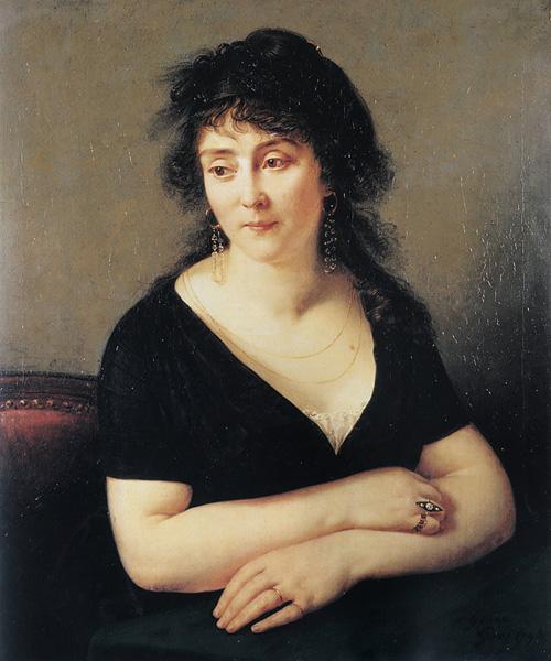Portrait of Madame Bruyere   Antoine Jean Gros   Oil Painting