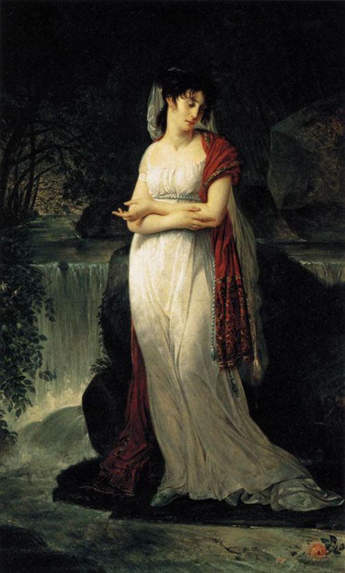 Christine Boyer 1800 | Antoine Jean Gros | Oil Painting