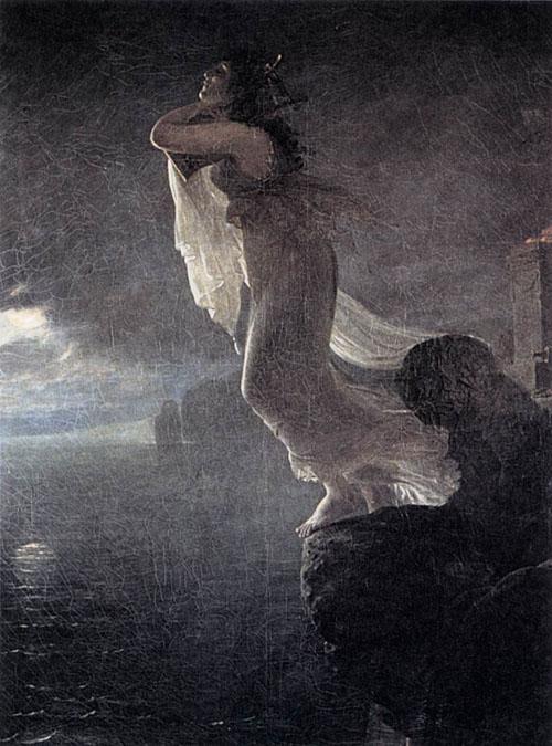 Sappho at Leucate 1801   Antoine Jean Gros   Oil Painting