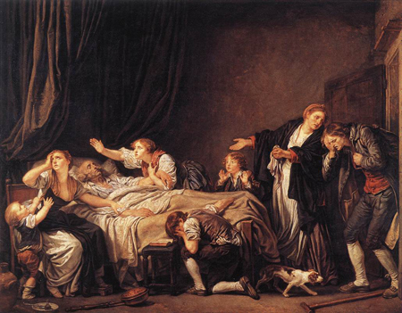 The Punished Son 1778 | Jean Baptiste Greuze | Oil Painting