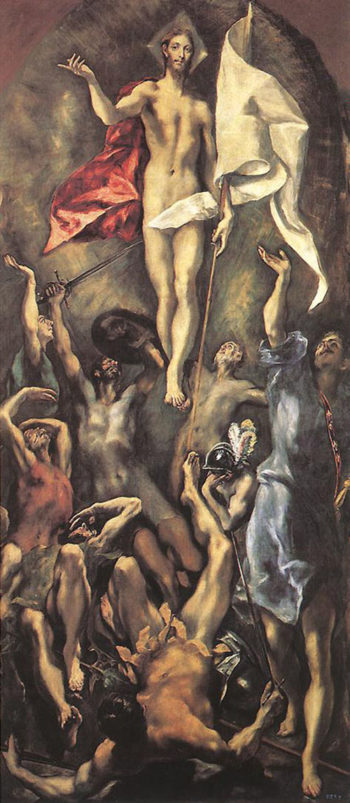 The Resurrection 1596 1610 | El Greco | Oil Painting