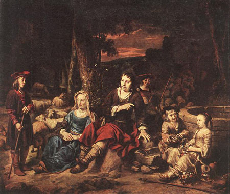 Portrait of a Family 1667 | Gerbrand van den Eeckhout | Oil Painting