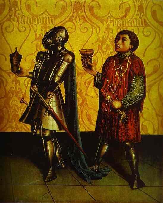 Sabobai And Benaiah 1435 | Konrad Witz | Oil Painting