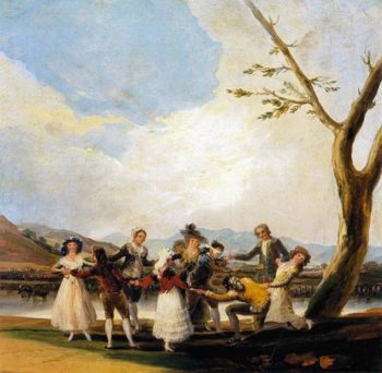 Blind Mans Buff 1788 1789 | Francisco de Goya | Oil Painting
