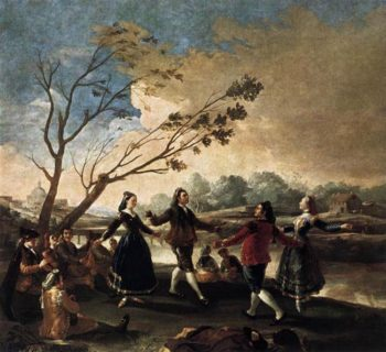 Dance of the Majos at the Banks of Manzanares 1777 | Francisco de Goya | Oil Painting