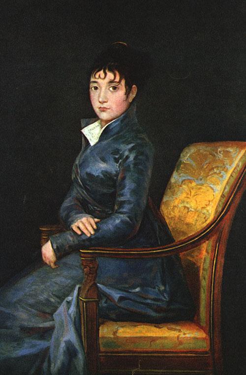Dona Teresa Sureda 1805   Francisco de Goya   Oil Painting
