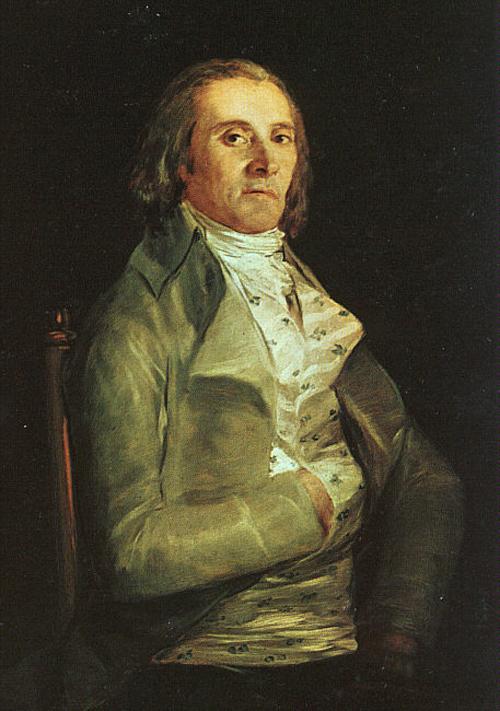 Dr Pearl   Francisco de Goya   Oil Painting