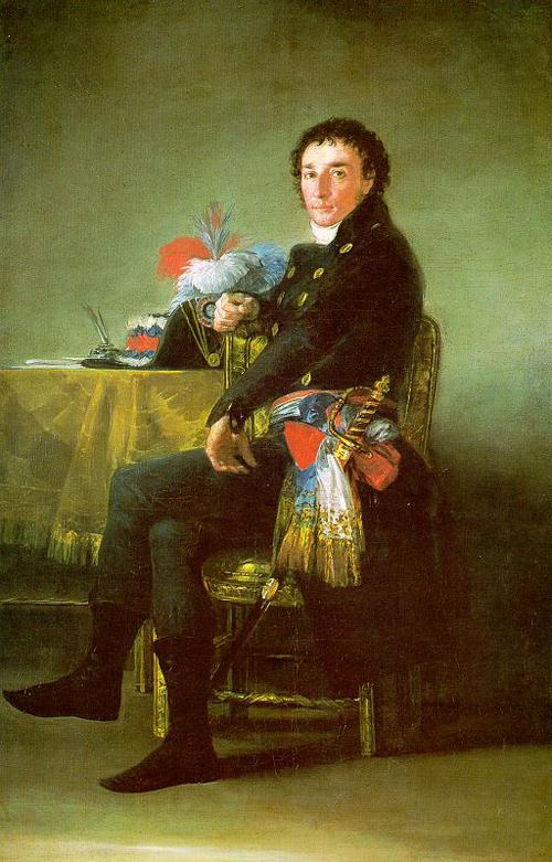 Ferdinand Guillemardet 1798   Francisco de Goya   Oil Painting