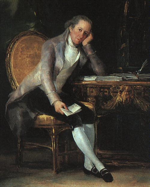 Gaspar Melchor de Jovellanos 1797   Francisco de Goya   Oil Painting