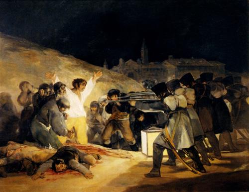 May 3 1808 1814   Francisco de Goya   Oil Painting