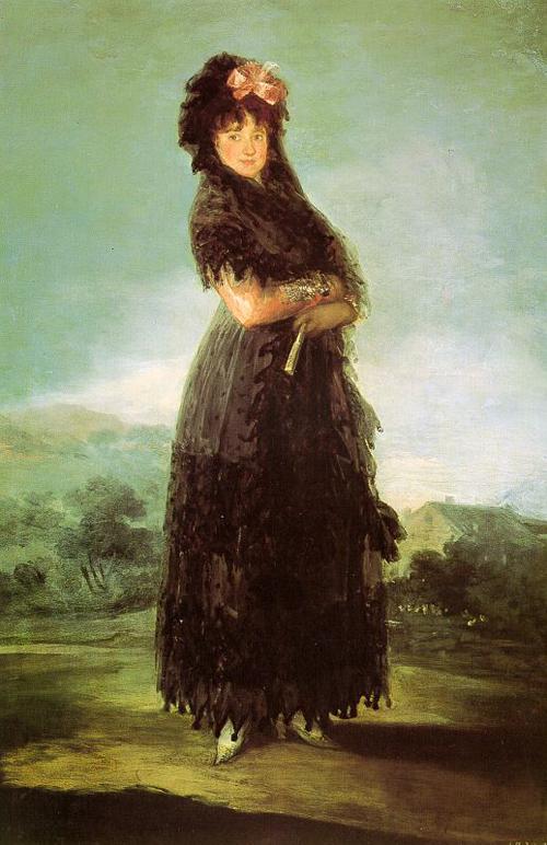 Portrait of Mariana Waldstein   Francisco de Goya   Oil Painting