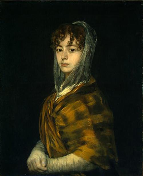 Senora Sabasa Garcia 1806 1811   Francisco de Goya   Oil Painting