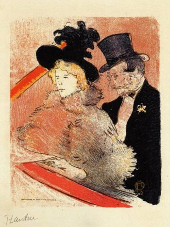 At the Concert 1896 | Henri Toulouse Lautrec | Oil Painting