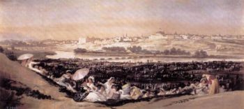 The Meadow of San Isidro on his Feast Day 1788 | Francisco de Goya | Oil Painting
