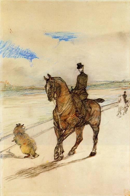 Horsewoman 1899 | Henri Toulouse Lautrec | Oil Painting