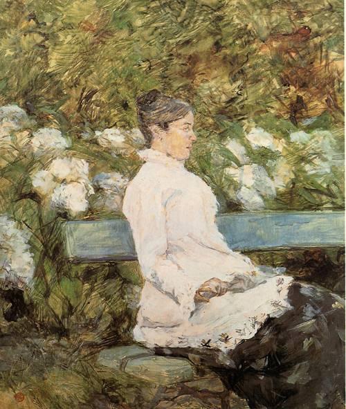 Madame la Comtesse A. de Toulouse-Loutrec 1881-1882   Henri Toulouse Lautrec   Oil Painting
