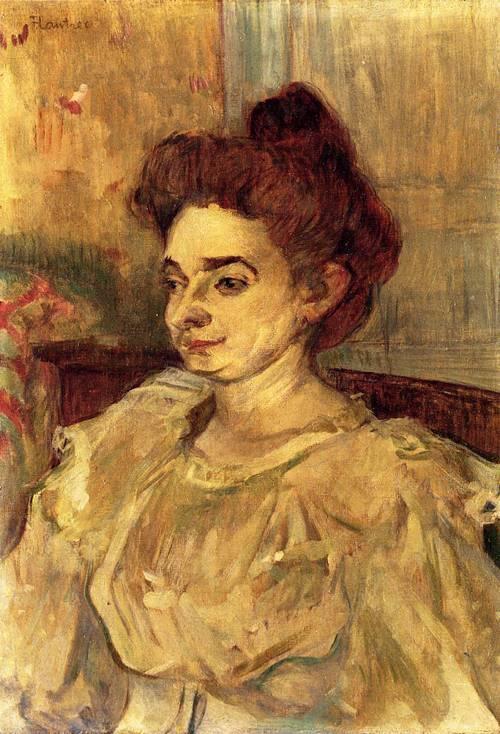 Mademoiselle Beatrice Tapie de Celeyran 1897   Henri Toulouse Lautrec   Oil Painting