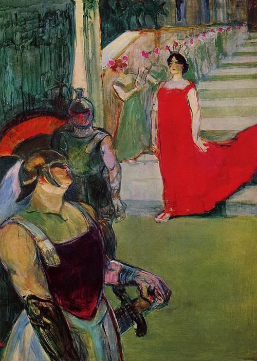 Messaline 1900-1901   Henri Toulouse Lautrec   Oil Painting